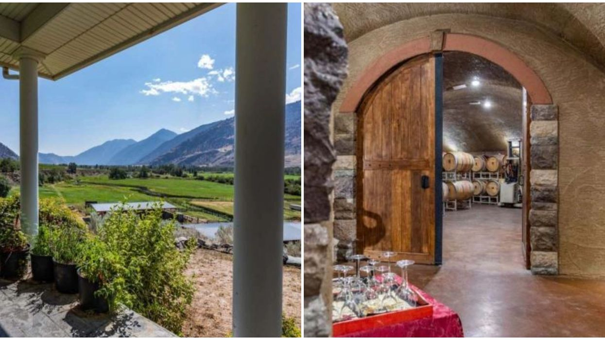 This BC Mountain Villa For Sale Has Its Own Underground Cave (PHOTOS)