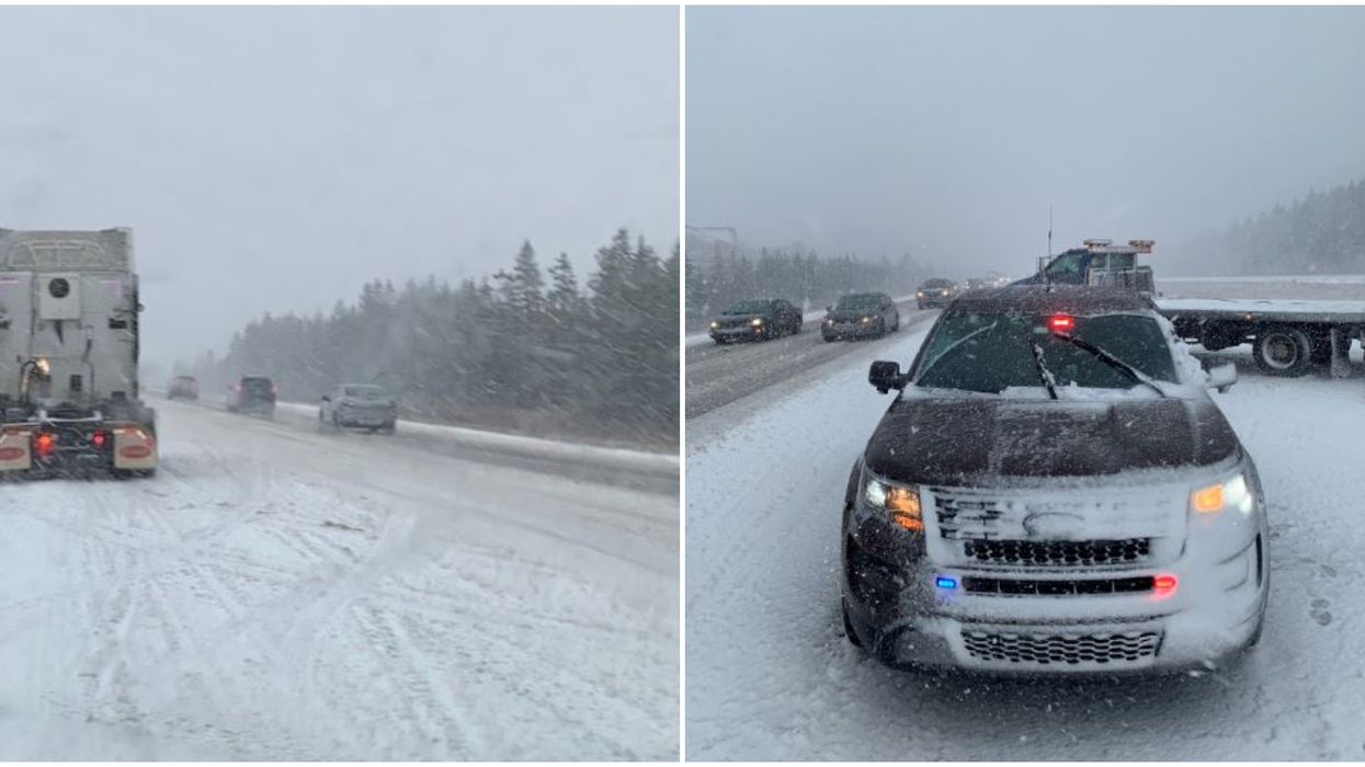 Nova Scotia Snow Storm Brings Tons Of Snow & Causes All Sorts Of Traffic Chaos (PHOTOS)