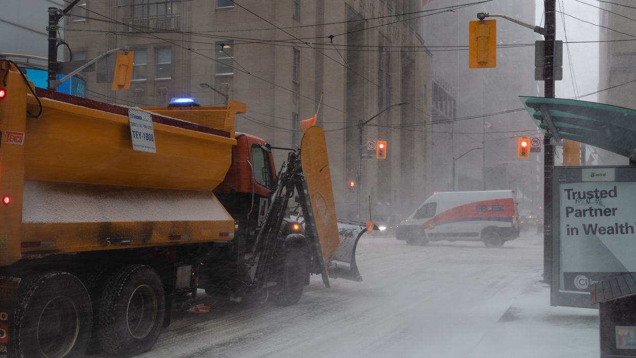 Toronto Weather Is Going To Be Brutal This Weekend With 10 Cm Of Snow