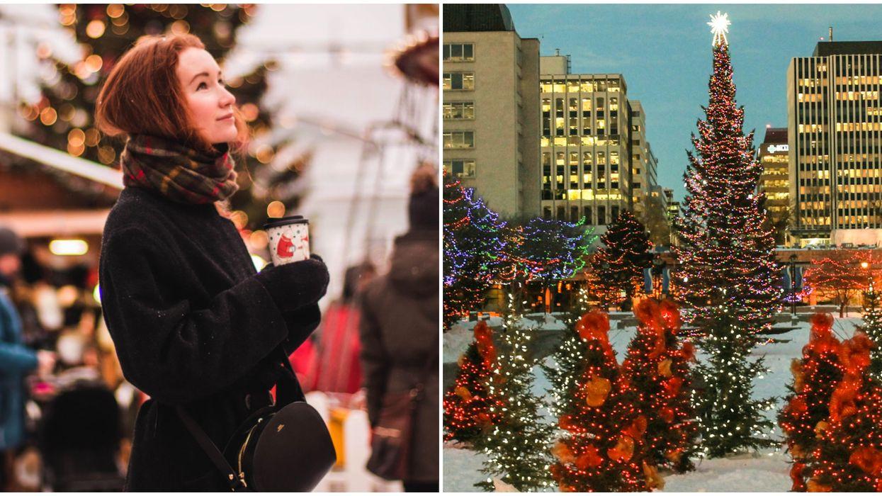 Edmonton's Adorable New Christmas Market Officially Opens Today
