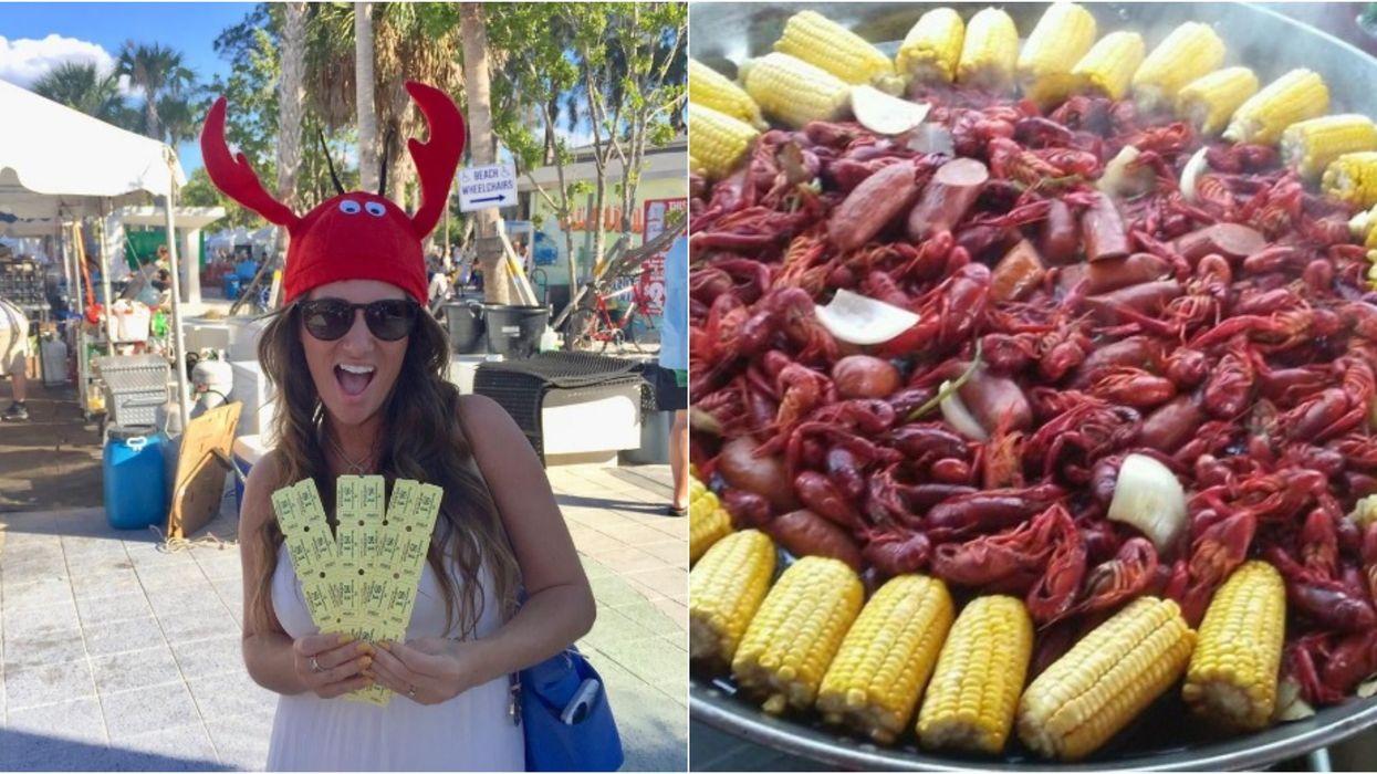 A Massive 3-Day Seafood & Music Festival Is Coming To Sarasota Next Month