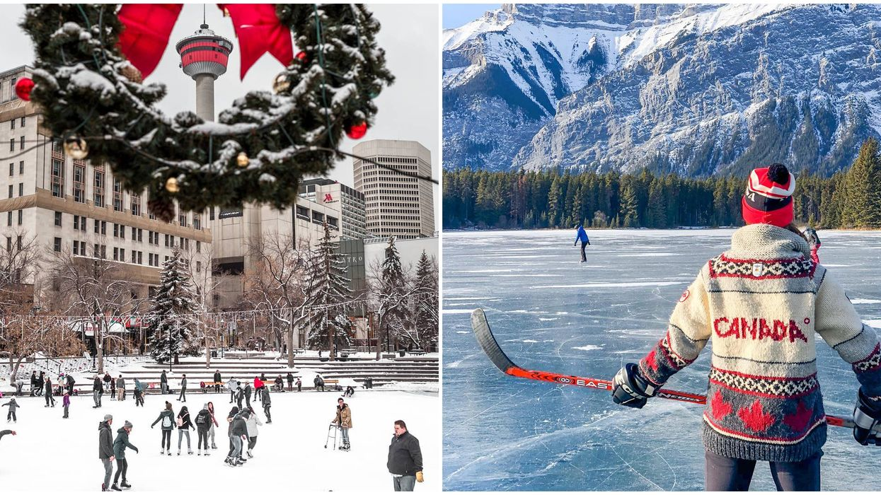 8 Free Outdoor Rinks In Calgary Where You Can Skate In A Winter Wonderland