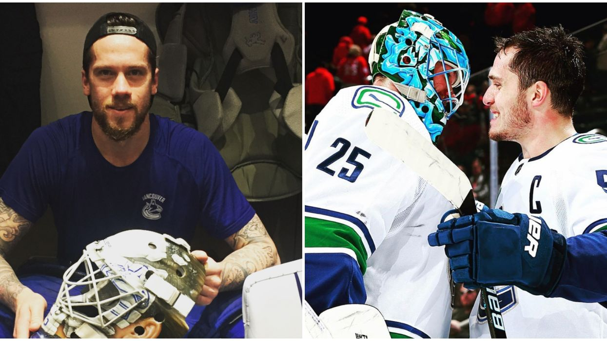 Canuck Jacob Markstrom Gets Love From Penguins Goalie After Losing His Dad (VIDEO)