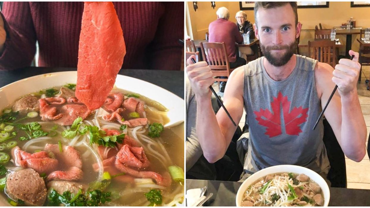 Pho Challenge To Eat A 6 Pound Bowl In BC Could Get You A $100 Gift Card