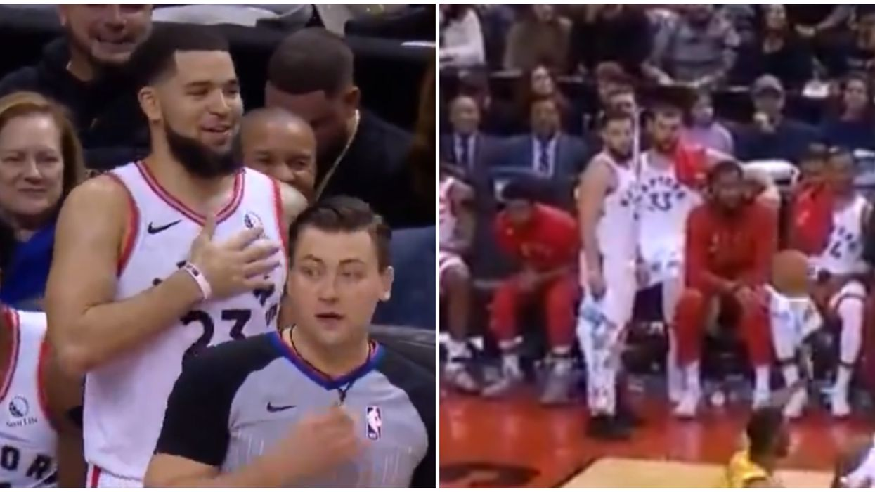 Fred VanVleet Awkwardly Missed His First Pass From Ibaka Last Night (VIDEO)