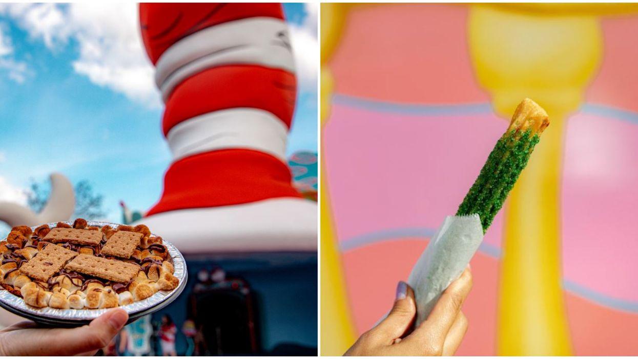 Universal Orlando Seuss Landing Just Reopened Green Eggs & Ham Restaurant