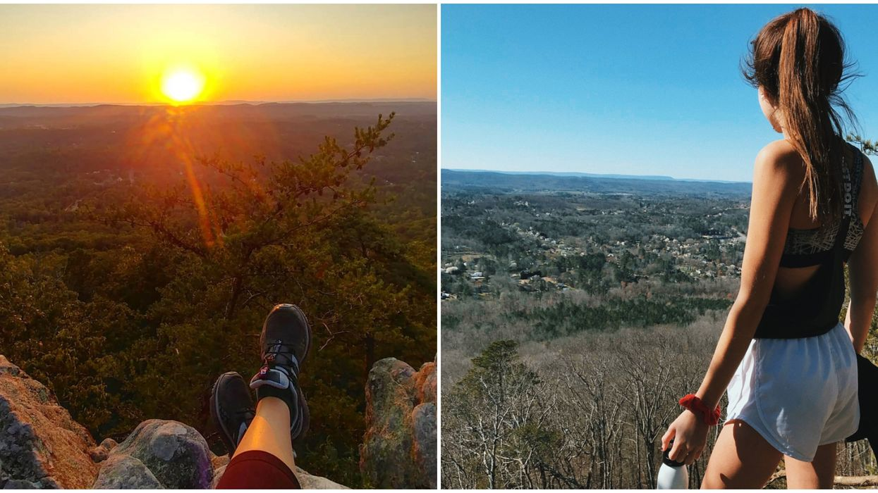 This Beautiful View In Georgia Is On A Must-See Hike