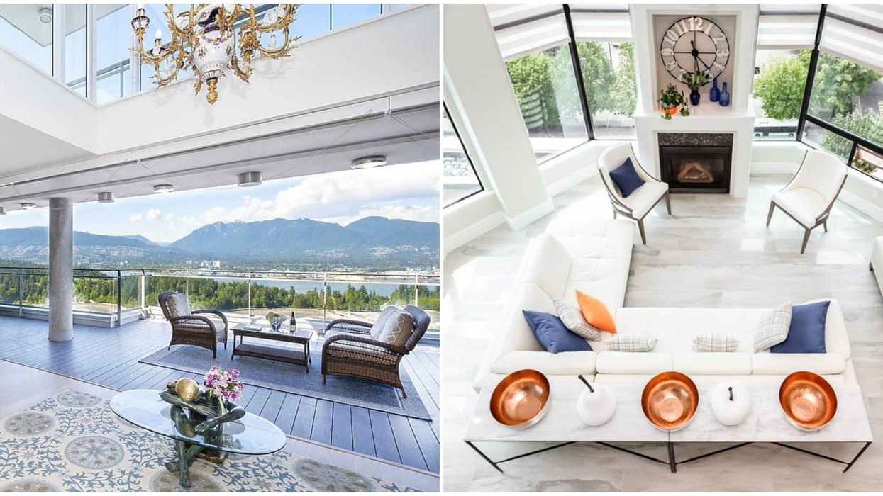 6 Of The Most Expensive And Drool-Worthy Penthouses For Sale In BC (PHOTOS)