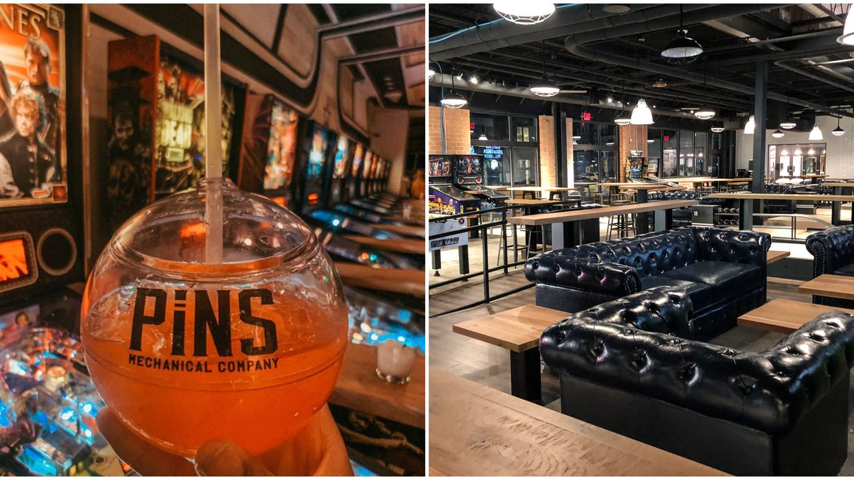 New Arcade Bar In Charlotte Is An Adult Playground With Candied Drinks