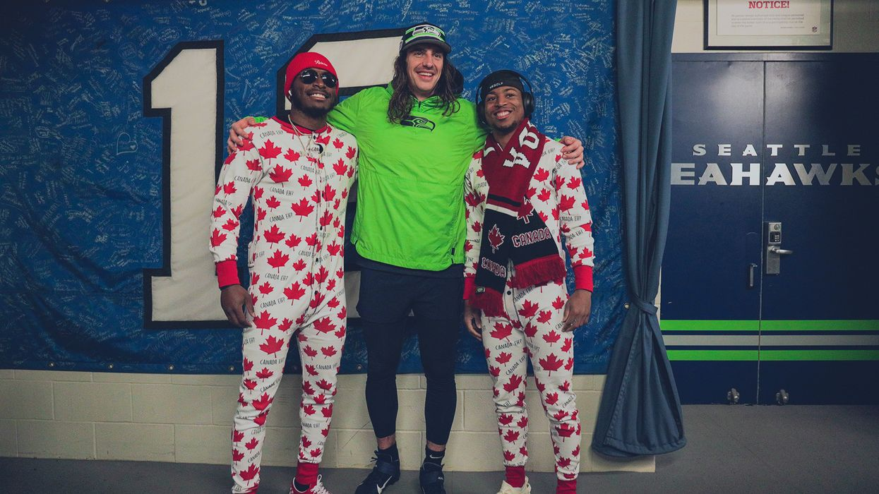 Seattle Seahawks Love Canada And Just Wore The Goofiest PJs To A Game