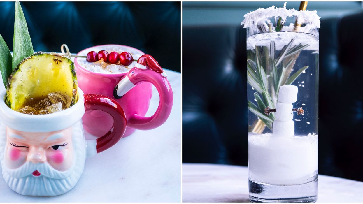 Toronto's Miss Thing's Christmas Cocktail Menu Features The Most Insane Festive Drinks