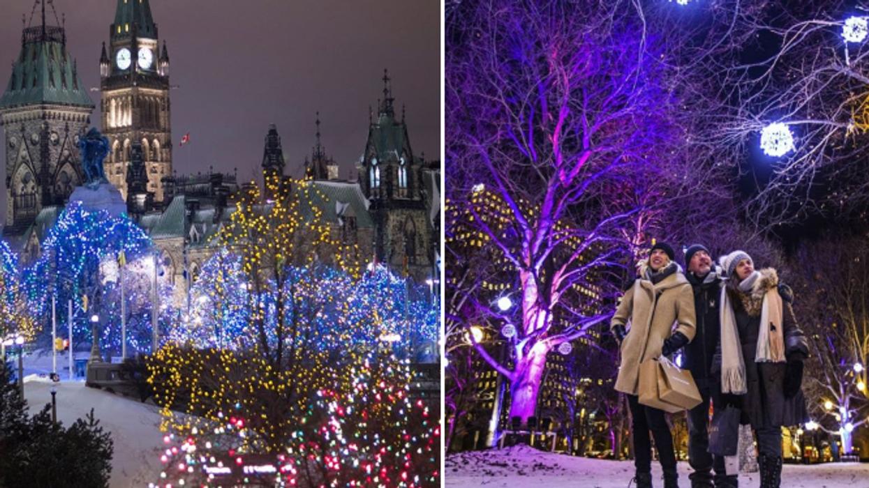 Ottawa se transforme en vraie féerie des Fêtes ce mois-ci et ça vaut le détour