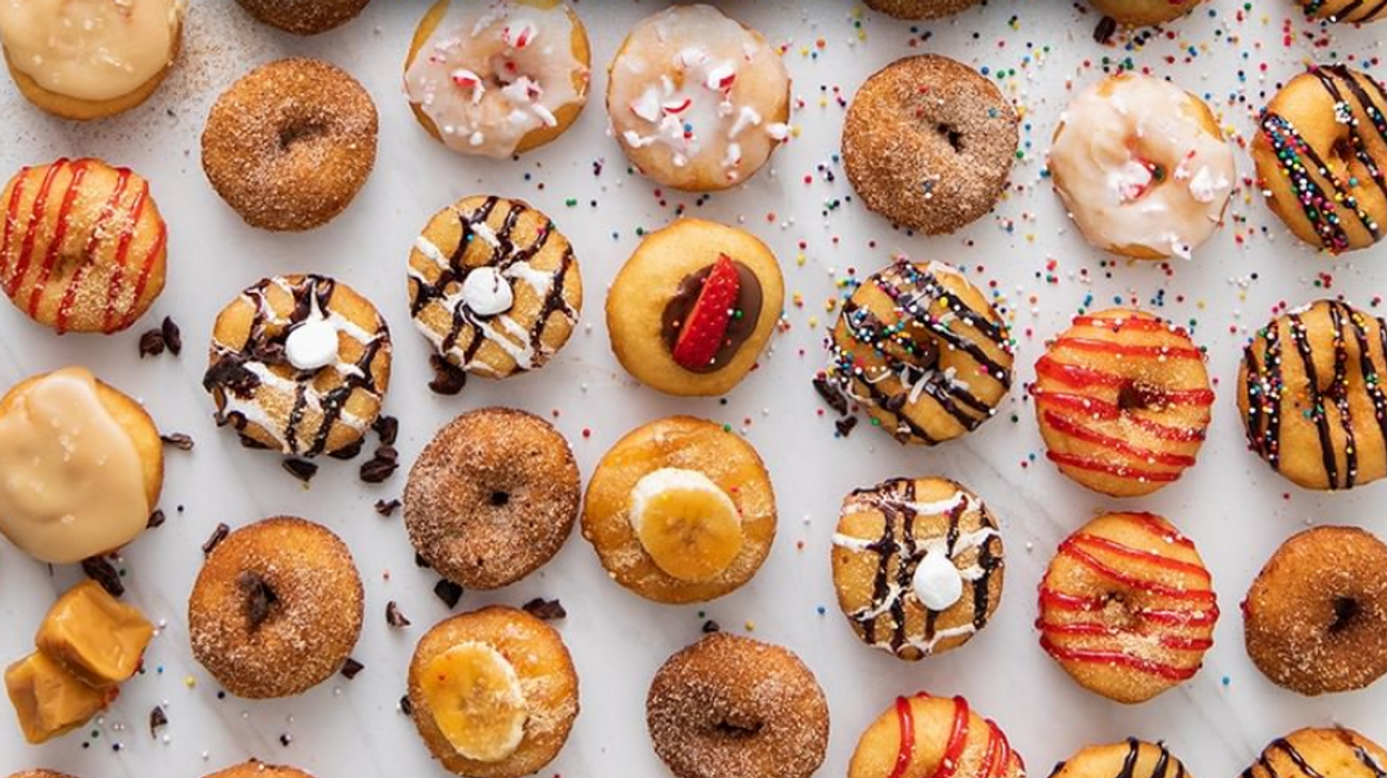 Calgary Just Got A New Mini Doughnut Shop With 20 Crazy Toppings To Choose From