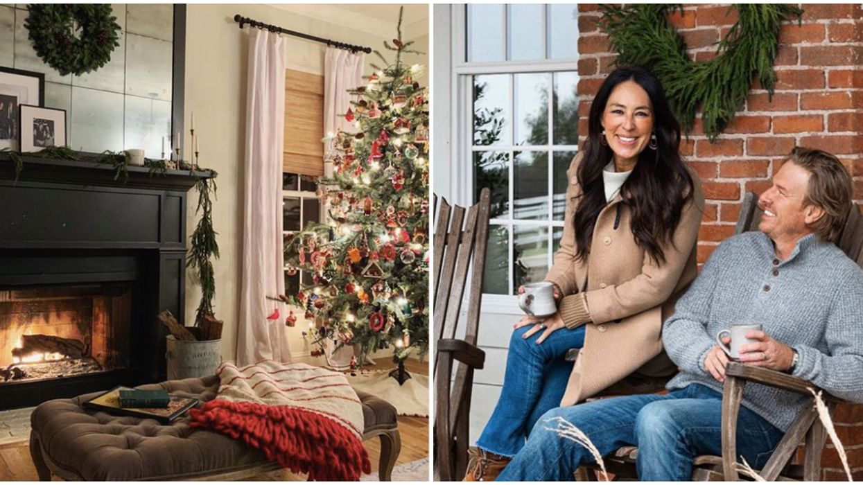 Chip And Joanna Gaines' Waco Home Is Truly A Christmas Dream (PHOTOS)