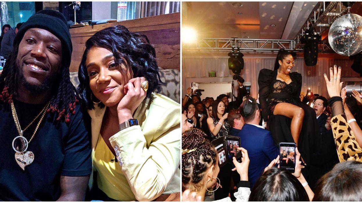 Tiffany Haddish Black Mitzvah Birthday Party Was The Most Epic Celebration