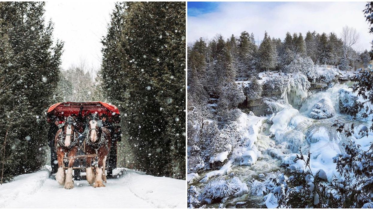 Ontario Winter Places You Need To Visit This Season For A Truly Magical Adventure
