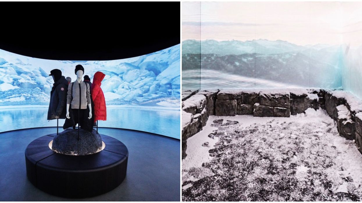 Canada Goose The Journey Store Takes Toronto Customers On An Arctic Expedition