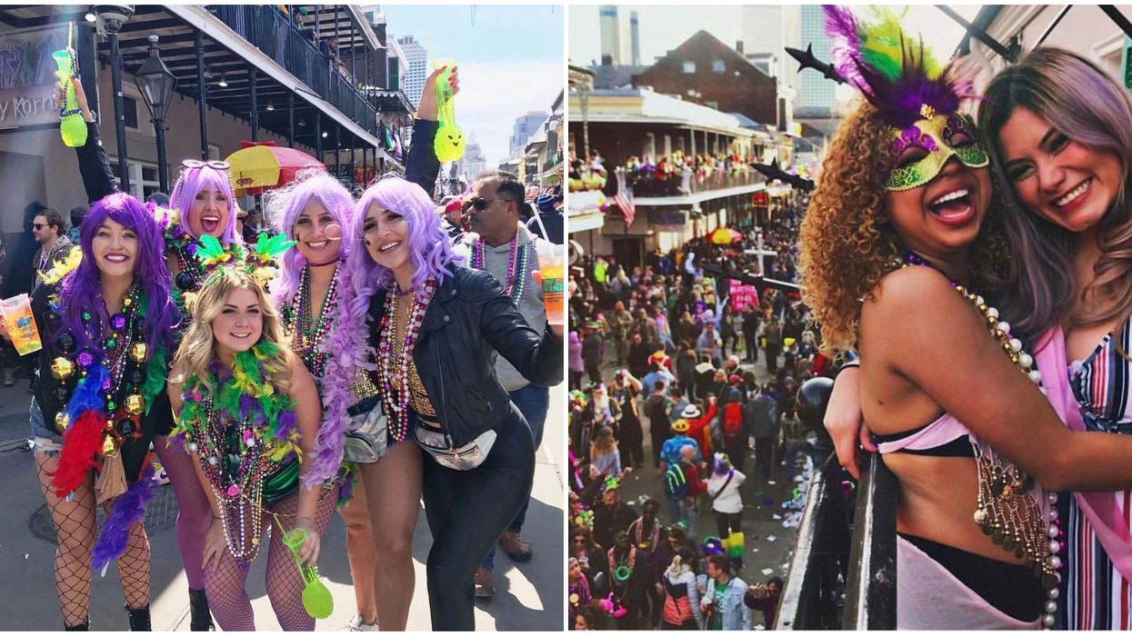 These New Orleans Balconies Are The Best Locations To Celebrate Mardi Gras