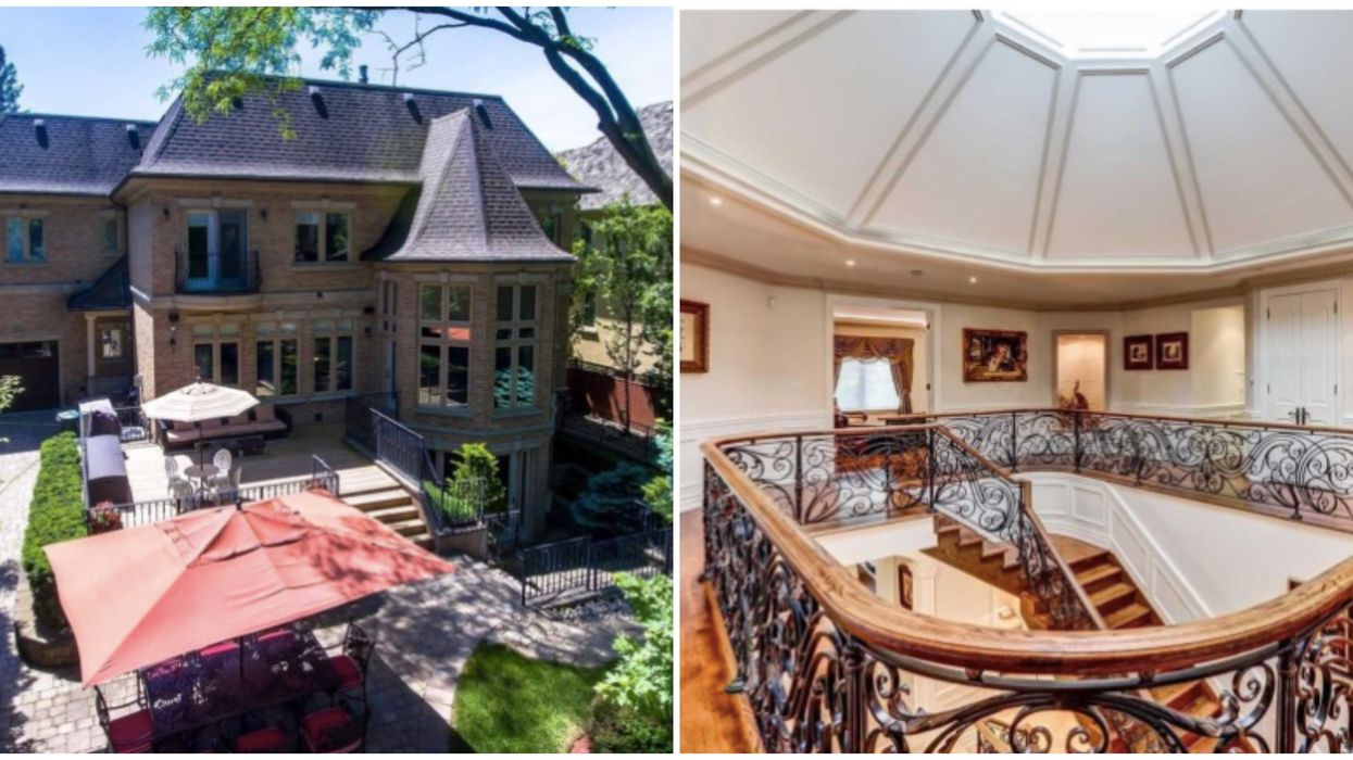 """Toronto Mansion For Sale Has Major """"The Crown"""" Vibes"""