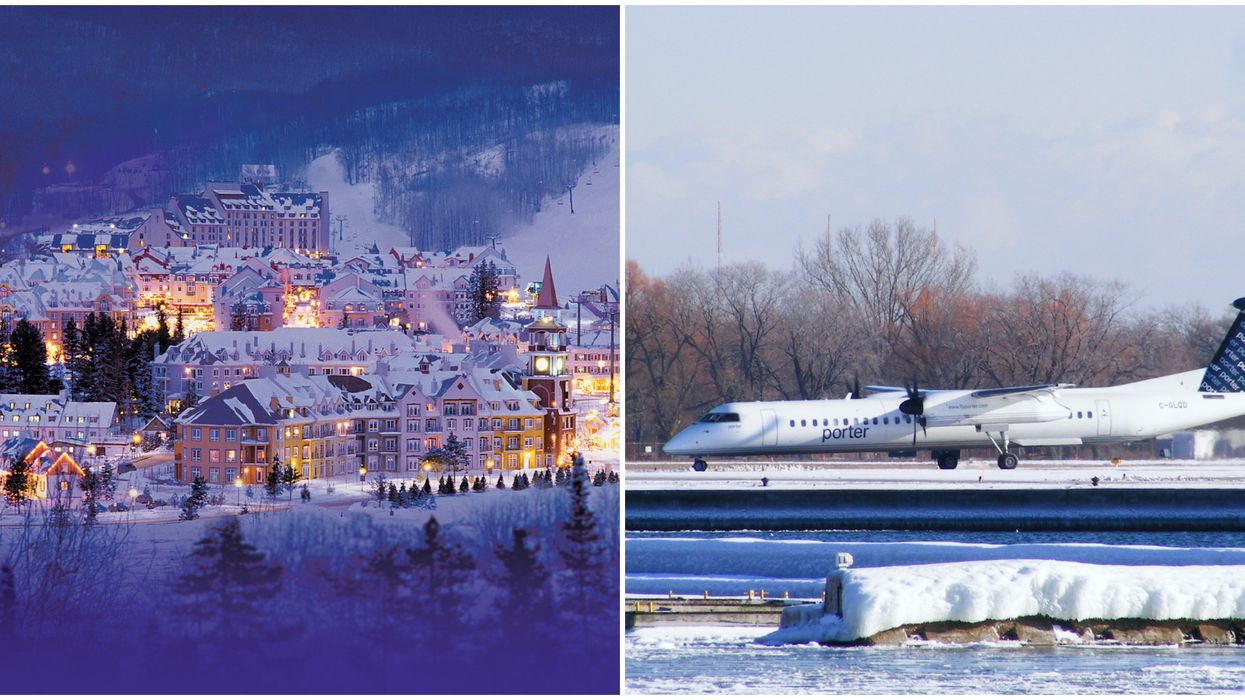 Flights To Mont-Tremblant With Porter Airlines From Toronto Get You There So Quick
