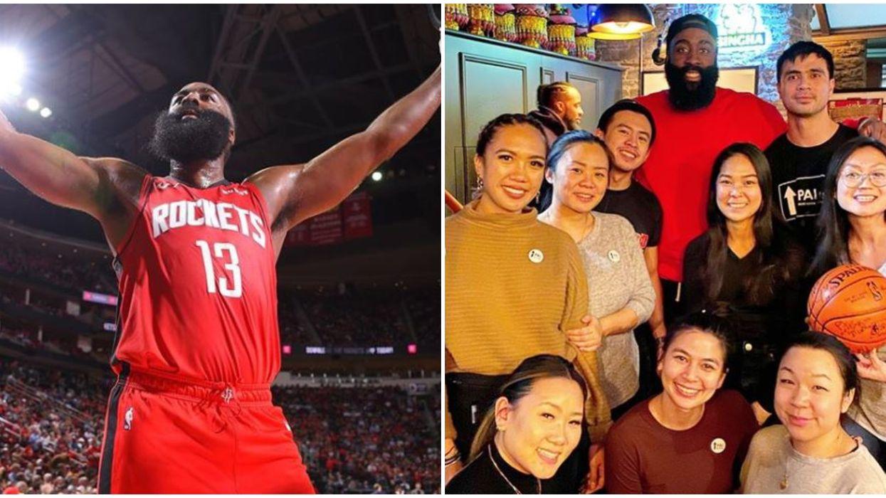 James Harden Toronto Photos Show NBA Superstar Surprising Thai Restaurant Staff