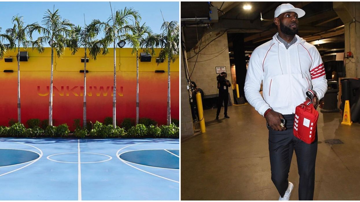 LeBron James Opens Second UNKNWN Store In Wynwood Miami