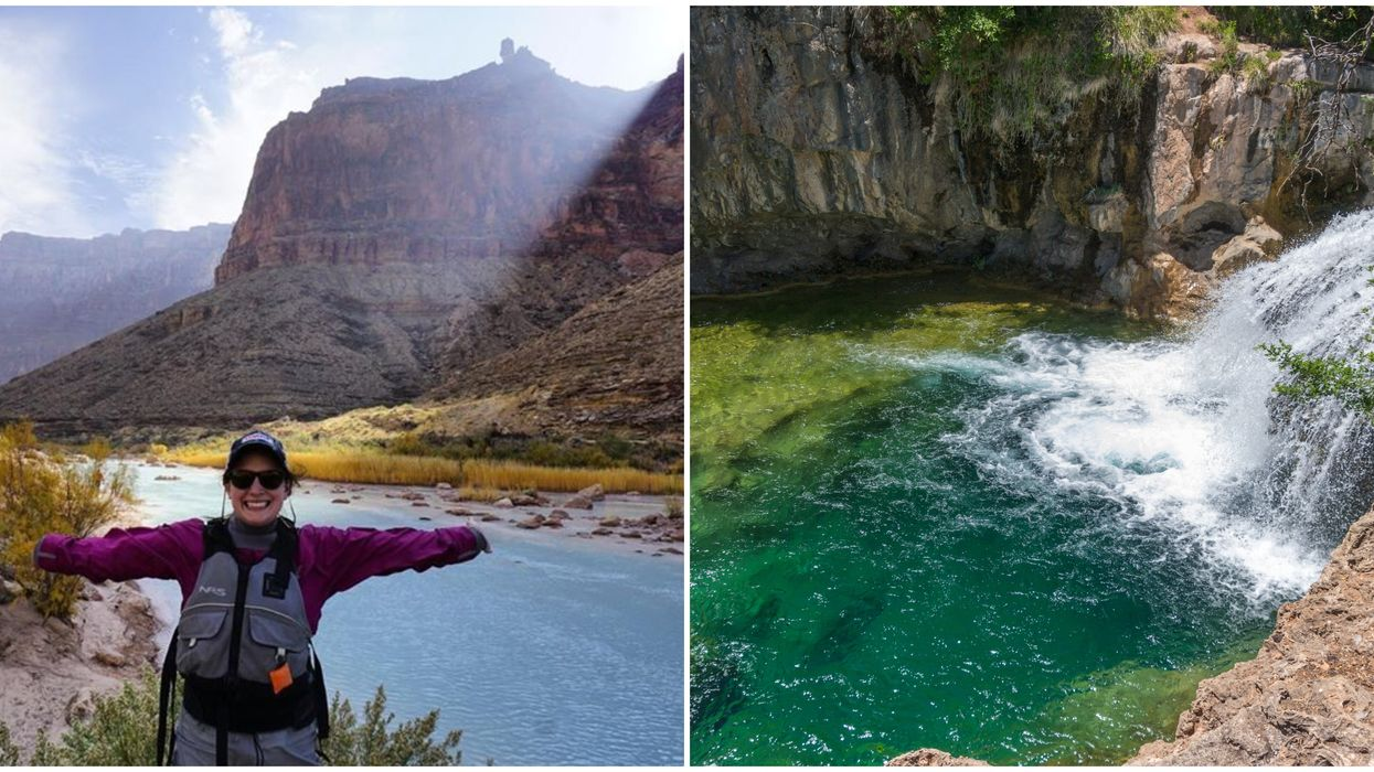 This Epic Map Takes You To Arizona's Best Waterfalls & Swimming Holes