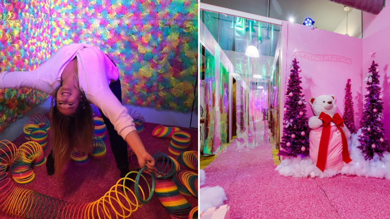 HideSeek va rester à Montréal pour un mois de plus avec une nouvelle salle de Noël