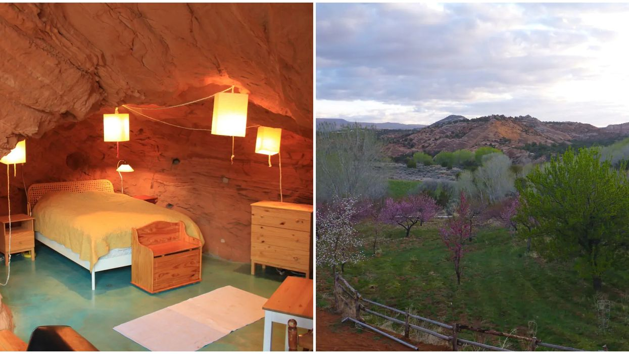 This Cave Rental In Utah Was Made Using Dynamite