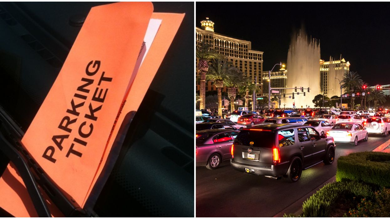Las Vegas Parking Tickets Can Be Paid In Full Using Donations Until December 16