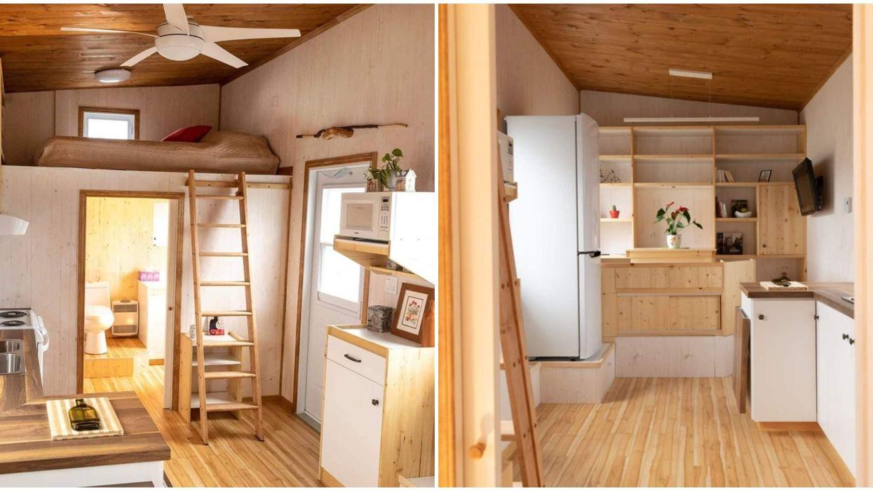 Cette mini-maison à seulement 70 000$ à Québec est aussi charmante que confortable
