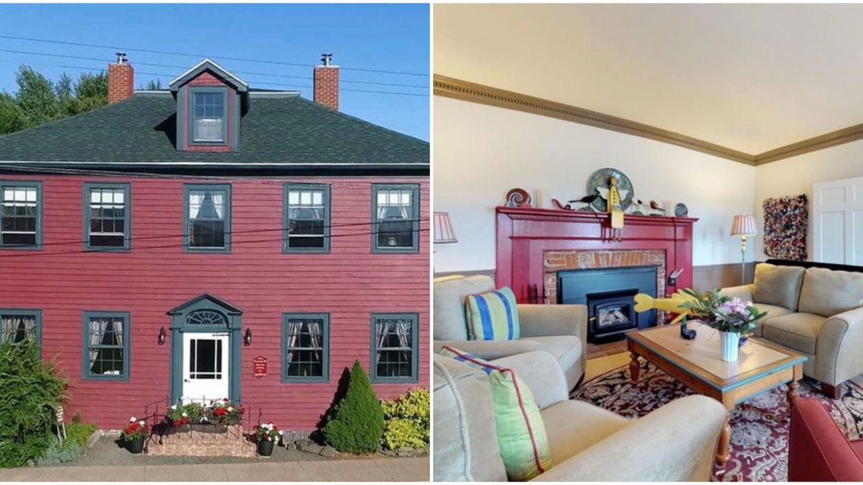 Nova Scotia Historic Homes For Sale Include A House Older Than Canada Itself
