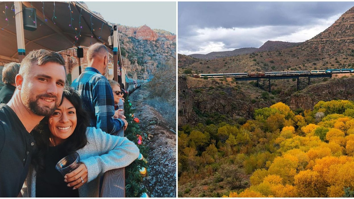 Verde Canyon Train Ride In Arizona Will Take You To The North Pole This December
