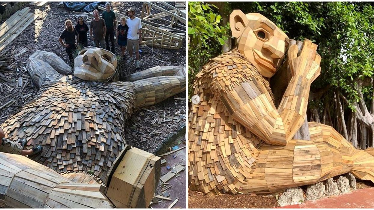 You Can Find Giant Wooden Trolls At These Florida Gardens