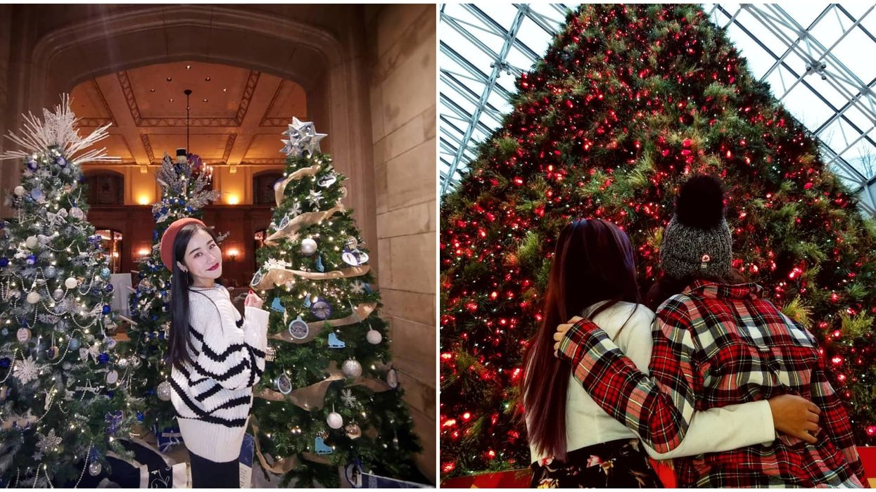 You Can Win $500 If You Take Selfies With These Christmas Trees Across Ottawa