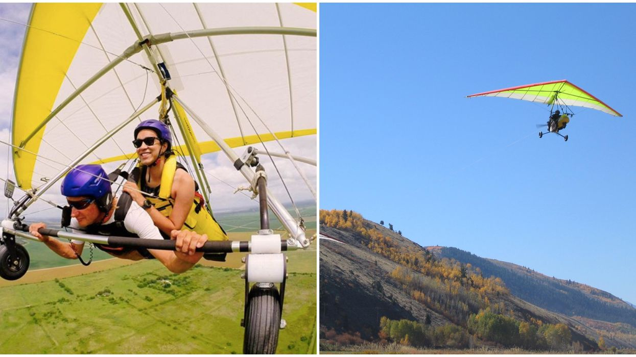 You Can Go Hang Gliding Over Scenic Texas Landscape Near Houston For Cheap