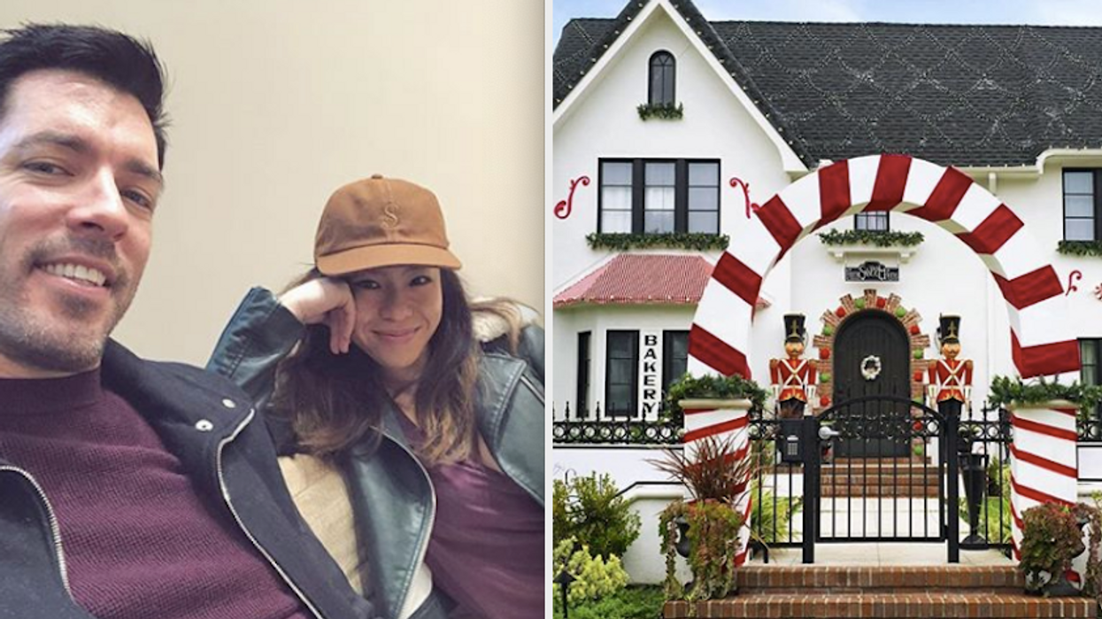 You might think that one house in your neighbourhood is totally over the top with Christmas decorations and holiday cheer but if Drew Scott moved in, it would have a new contender. He and his wife, Linda Phan, decked out their Los Angeles home with so many DIY items that it'll blow your mind. The Property Brothers Drew Scott and Linda Phan's home has a winter wonderland makeover and you'll wish you thought of it sooner.