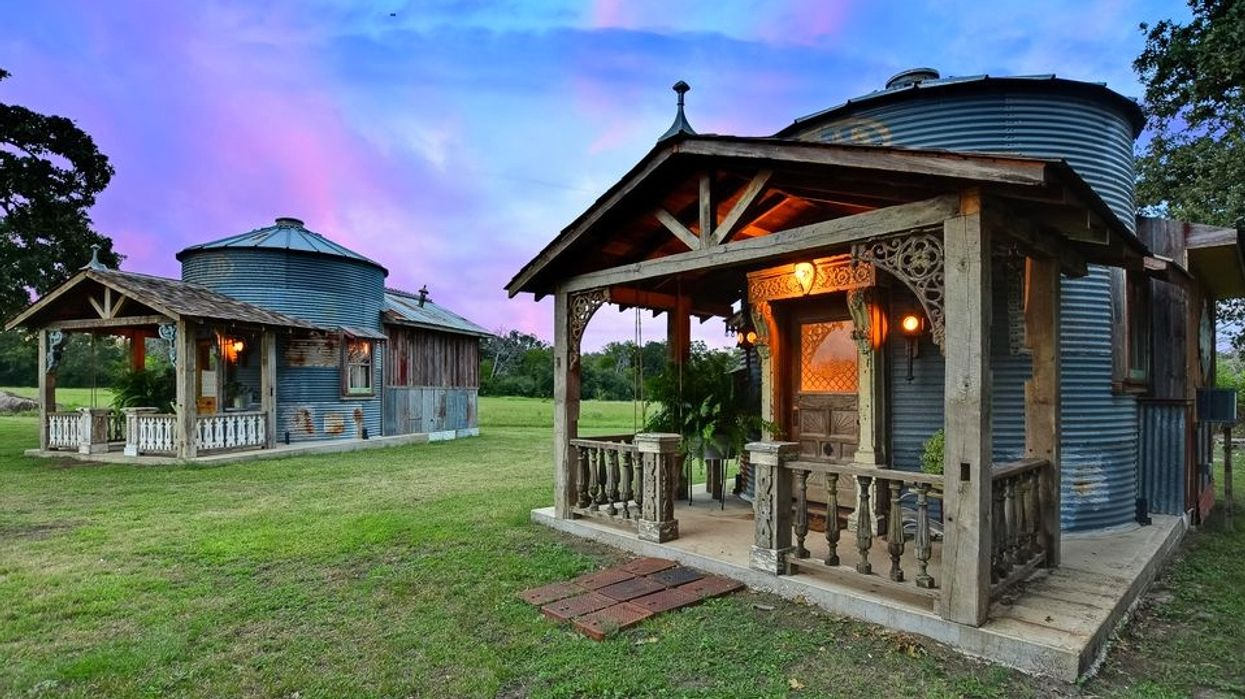 You Can Stay In A Remodeled Silo Tiny Home Village In Texas For The Cutest Night Ever