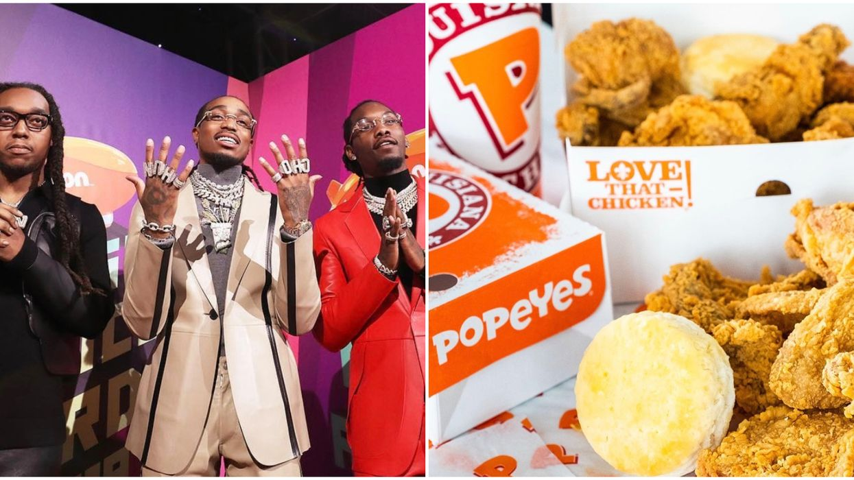 You Can Eat Like Migos Does On Tour With the Group's New Combos From Popeyes Canada