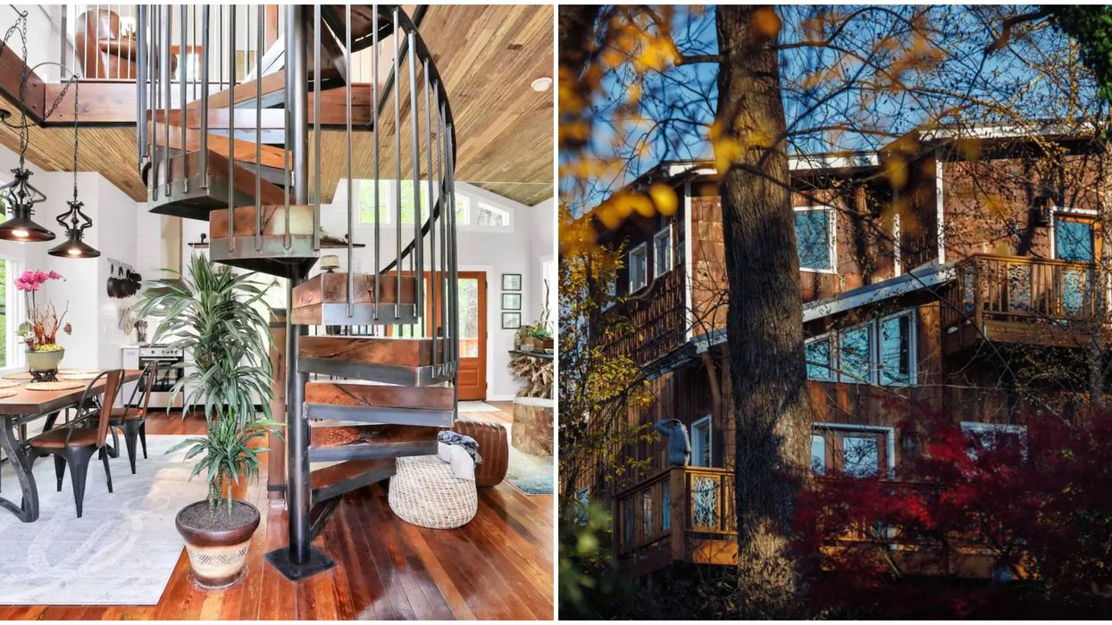 This All-New Hidden Treehouse Airbnb In Atlanta Is Total Vacation Goals