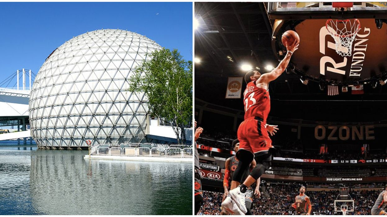 Toronto Raptors Game Will Be Playing At The Cinesphere For Free On Wednesday