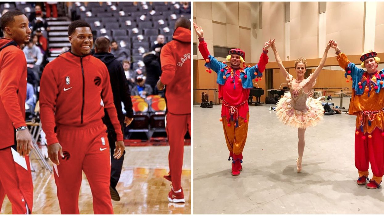 Kyle Lowry's The Nutcracker Debut Will See Him Fire A Cannon And Fans Are Psyched