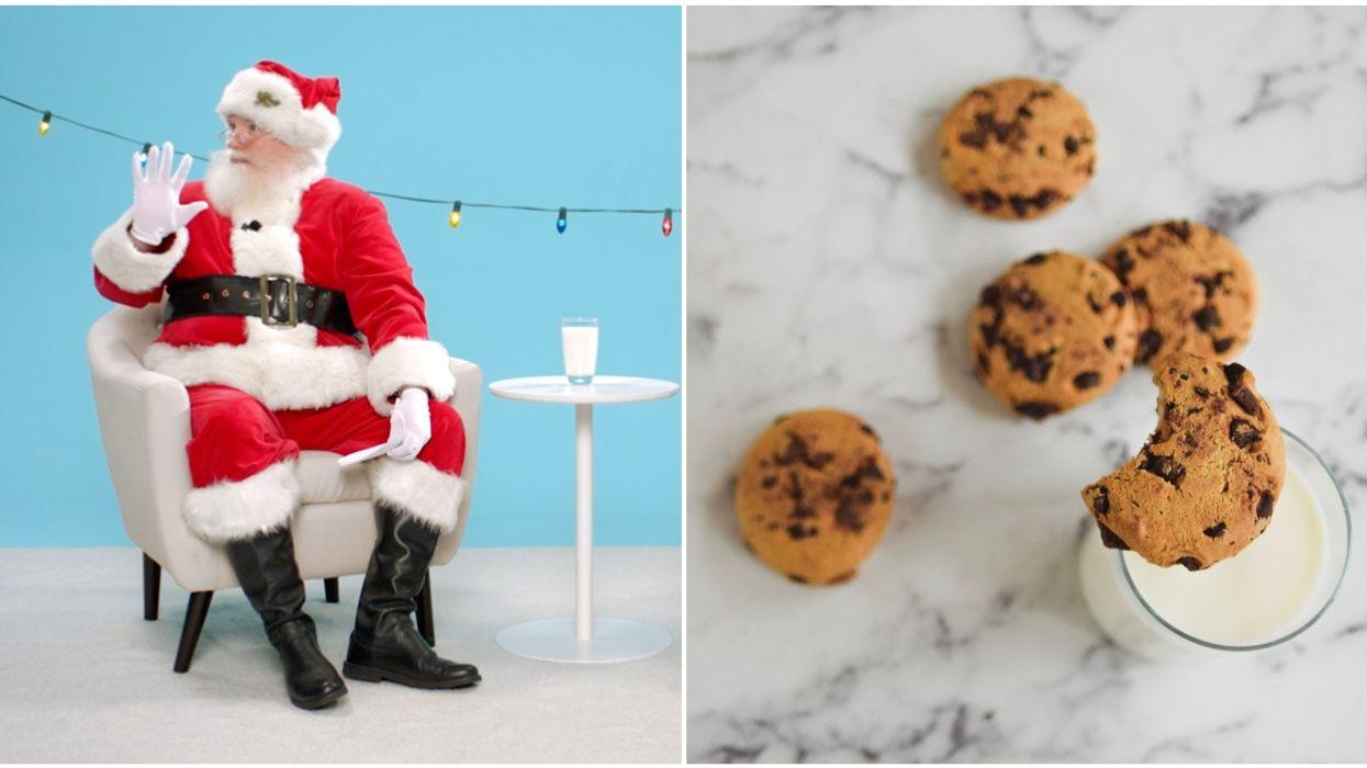 Les Producteurs laitiers du Canada ont invité le père Noël pour leur nouvelle vidéo du temps des Fêtes
