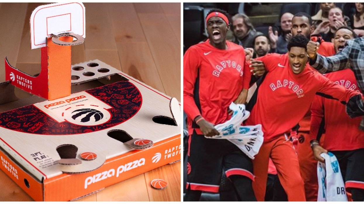 Pizza Pizza Is Launching A Special Raptors Edition Pizza Box