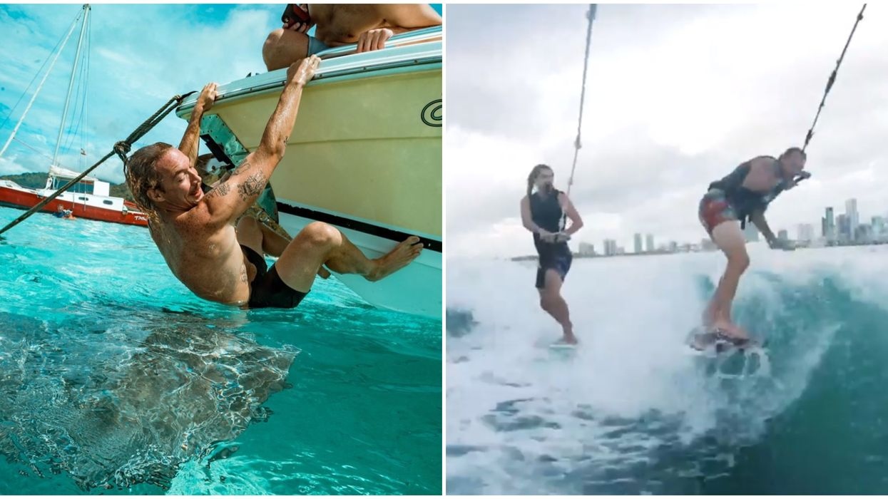 Diplo Was Spotted In Miami Florida Today Wake Surfing With A World Champion