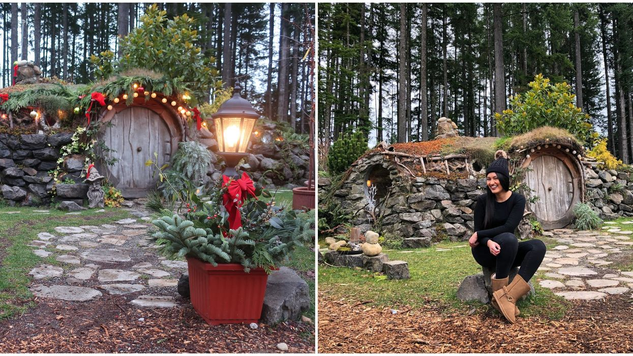 This Hobbit House In Washington Is Hidden In A Plant Nursery