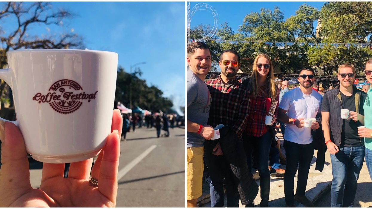San Antonio Coffee Festival Is Taking Place This Winter
