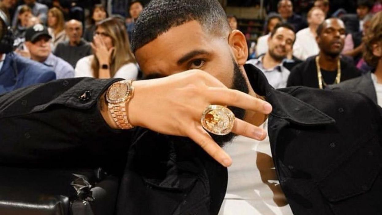 Drake's Toronto Raptors Championship Ring