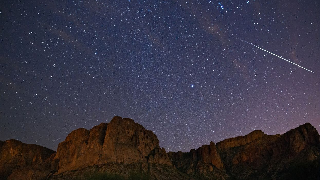 The Galactic Geminid Meteor Shower Will Light Up Louisiana Skies This Weekend