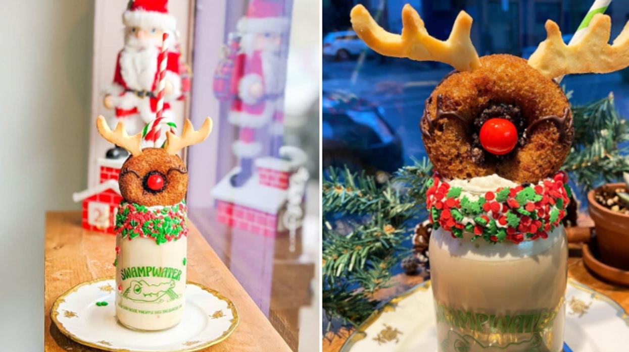 31 dates : Tu peux partager un latte de Noël mignon à souhait à cet endroit de Montréal